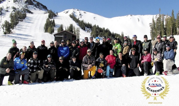 2013 Alpine National Coaches Academy group